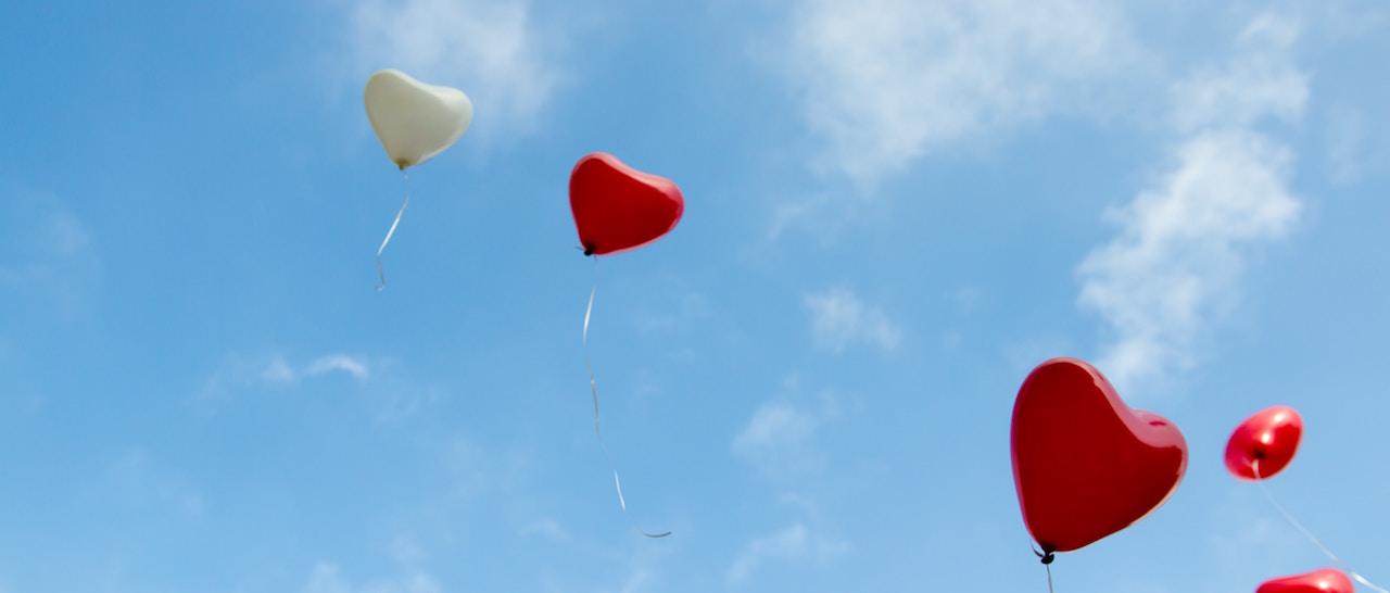 Paroisse Houilles Carrières Balloon Coeur ciel