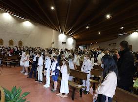 Communion NDRM 2020 paroisse houilles carrières