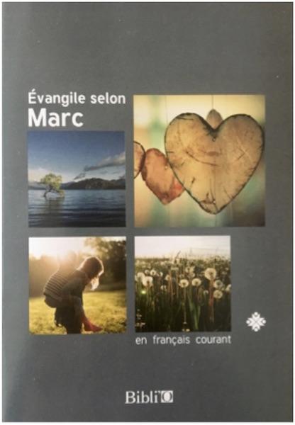 Couv Evangile de Marc Paroisse HouillesCarrières